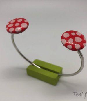Bracelet double pastille