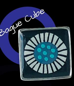 Bague cube